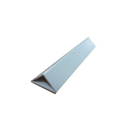 WT สามเหลี่ยมลบมุม 25 มม. PF-263/2ม. สีขาว