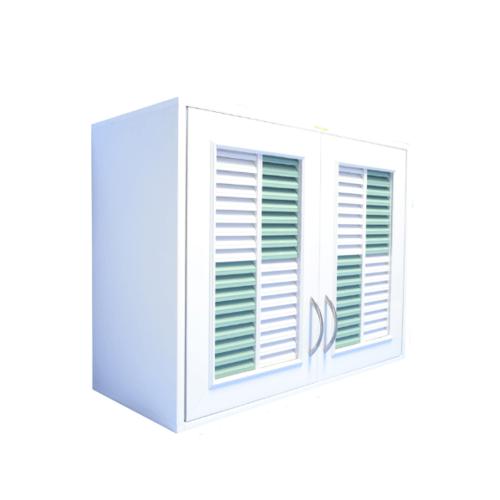 WT ตู้ลอยคู่ /ขาวเขียว WT-555