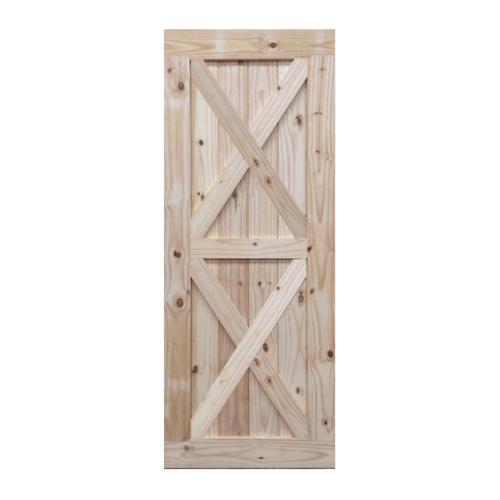 BEST BEST ประตูไม้สน   GB-02 ขนาด 90x200 ซม. GB-02