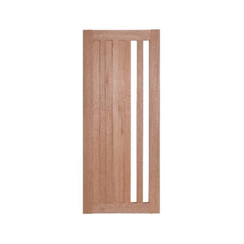 BEST  ประตูไม้สยาแดงกระจกฝ้า  ขนาด 100x210 ซม. GS-47