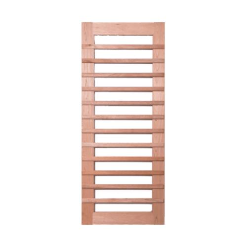BEST ประตูไม้สยาแดง (โปร่ง)  ขนาด 90x200 ซม. GS-59