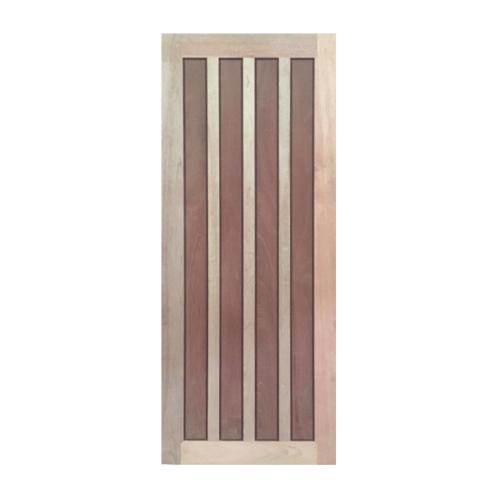 BEST ประตูไม้สยาแดง ขนาด 70x220 ซม. GS-39