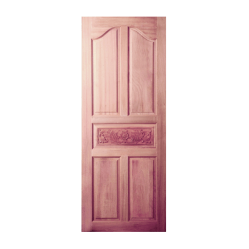 BEST ประตูไม้สยาแดง ขนาด 89x190 ซม. GC-52