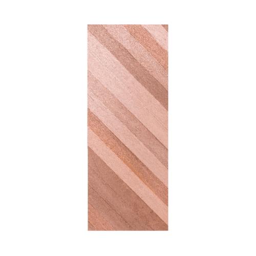 BEST  ประตูไม้สยาแดง บานเรียบทำลาย ขนาด 80x200ซม. (ทำสี) Trend-05