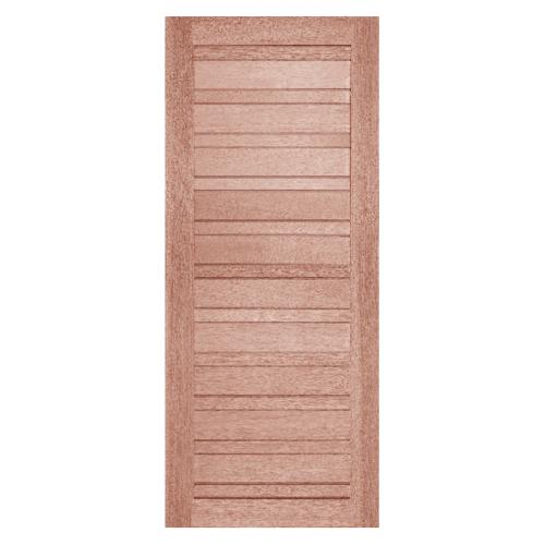 BEST ประตูไม้สยาแดง  ขนาด80x180 cm. GS-53