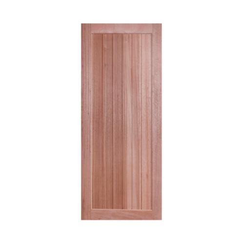 BEST สพ.ประตูไม้จาปาร์ก้าบานทึบ   ขนาด 80x200 cm. GS-56