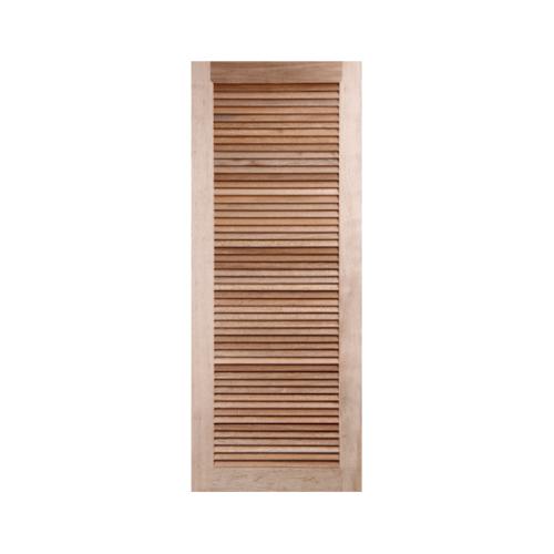 BEST ประตูไม้สน เกล็ดเต็มบาน  ขนาด 70.5x147.5 cm. GS-23