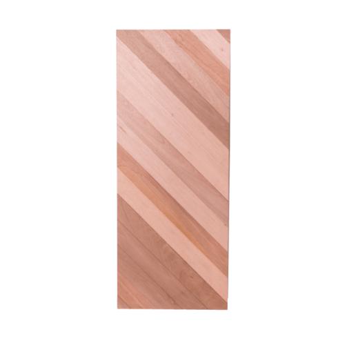 BEST สพ.ประตูไม้สยาแดง บานทึบ ขนาด  105x240 ซม. Trend-05