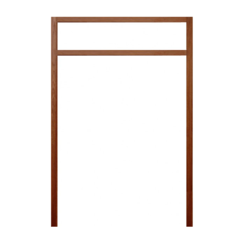 BEST วงกบประตูไม้แคมปัสพร้อมซับวงกบ ขนาด  171x230ซม.