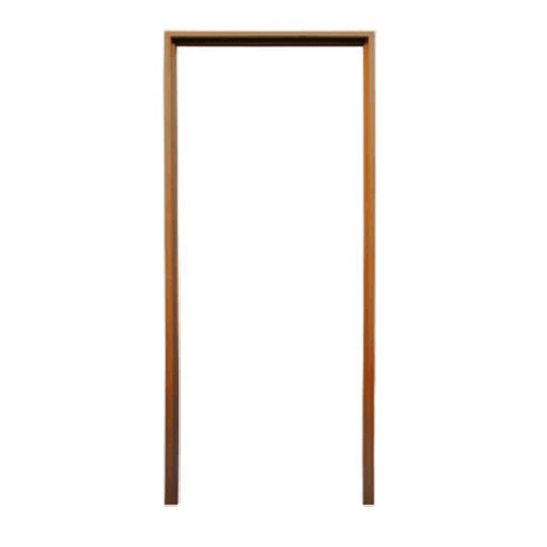 BEST วงกบประตูไม้เนื้อแข็งพร้อมซับ  ขนาด 240x220 cm.
