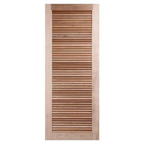 BEST ประตูไม้สยาแดง  ขนาด 80x200 cm. GS-23