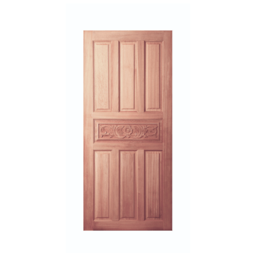 BEST ประตูไม้สยาแดง GC-32 ขนาด 70x200 cm. GC-32