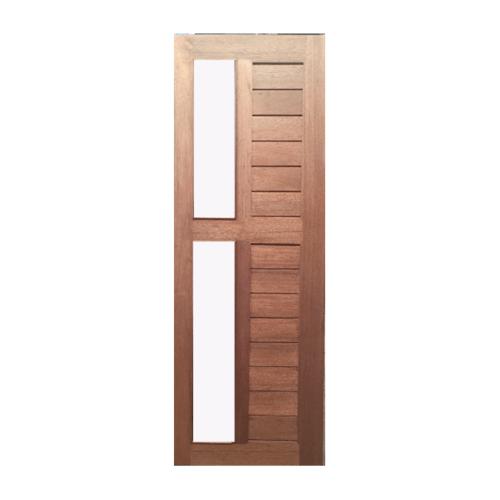 BEST ประตูไม้สยาแดง รุ่นGS-57(กจ.ฝ้า)ขนาด80x220cm. GS-57 (กจ.ฝ้า)