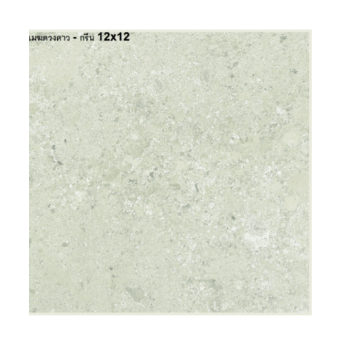 Bellecera 12X12 เมฆดวงดาว-กรีน(11P) A. FLOOR TILE