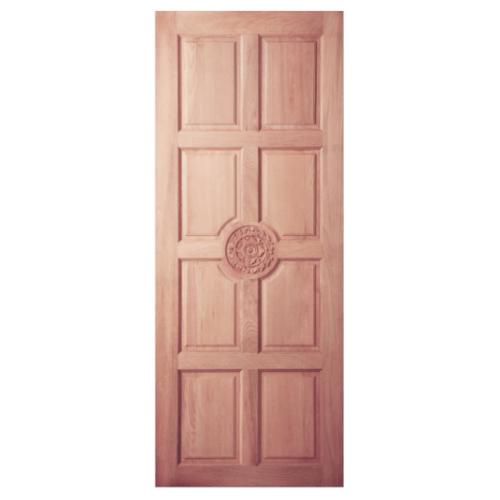 BEST ประตูไม้สยาแดง ขนาด100x200 cm.  GC-30