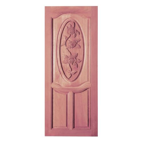 BEST ประตูไม้สยาแดง  90x200 cm.  GC-54