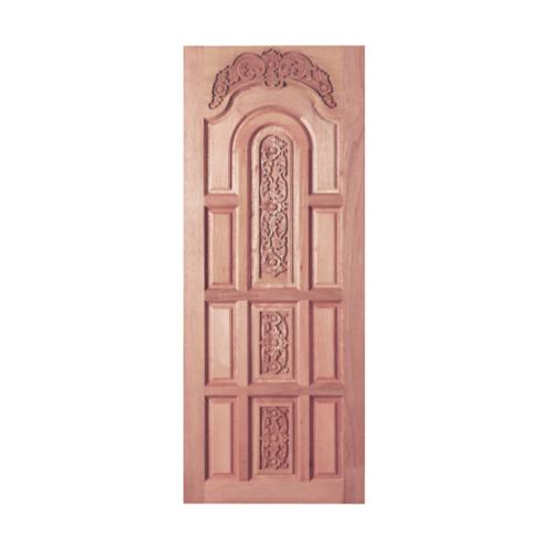 BEST ประตูไม้สยาแดง ขนาด 80x200 cm. GC-72