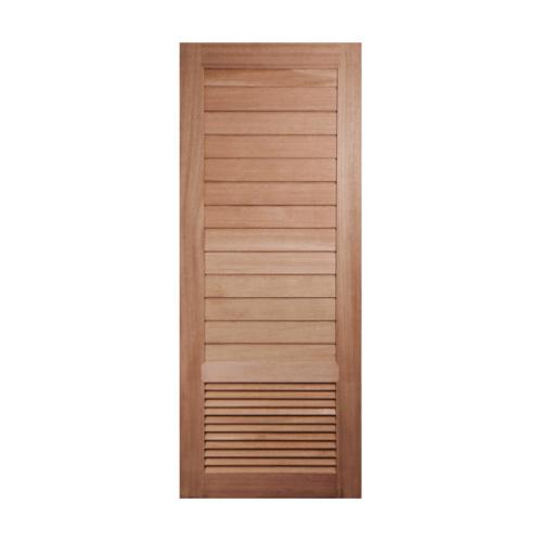 BEST ประตูไม้สยาแดง ขนาด 80x200 cm. GS-21