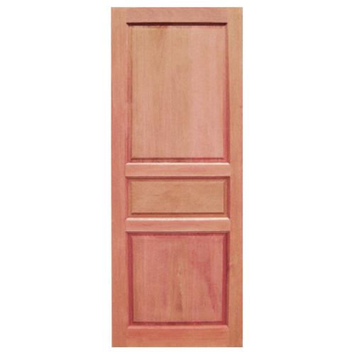 BEST ประตูไม้สยาแดง ขนาด 90x200 cm. GS-40