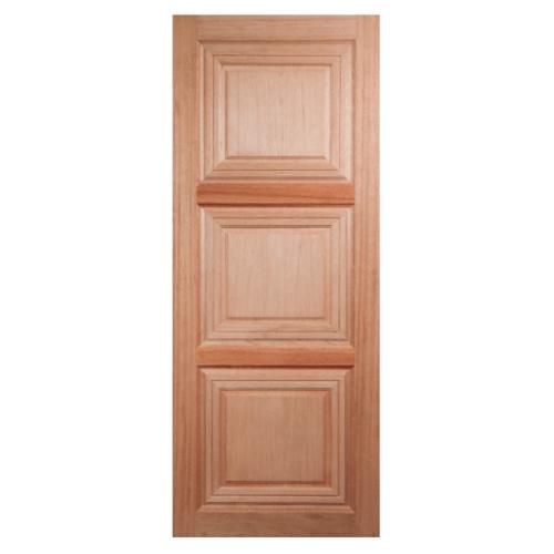 BEST ประตูไม้สยาแดง  80x200cm. GS-41