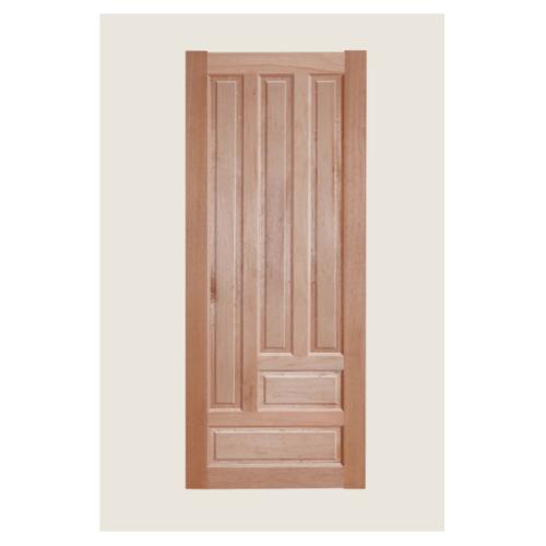 BEST ประตูไม้สนนิวซีแลนด์  ขนาด 100x200cm.ฺ  GS03