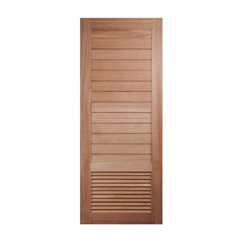 BEST ประตูไม้จาปาร์ก้า ขนาด 80x200 cm.  GS-21