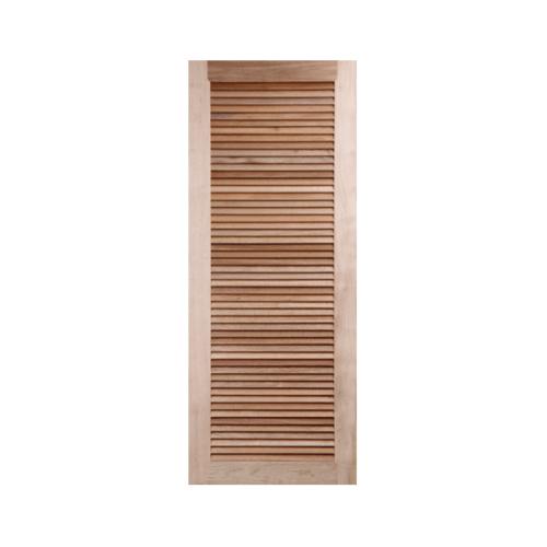 BEST ประตูไม้จาปาร์ก้า ขนาด  80x200cm. GS-23