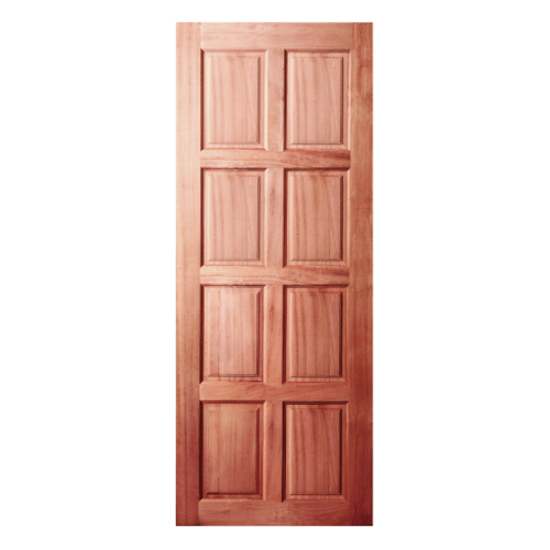 BEST ประตูไม้จาปาร์ก้า ขนาด  100x200cm.  GS-48