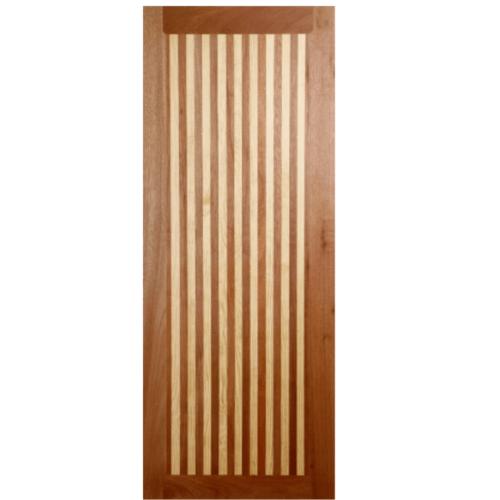 BEST ประตูไม้สยาแดง  70x150 cm.  GS-21