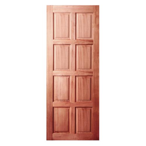 BEST ประตูไม้สยาแดง  100x210 cm. GS-48