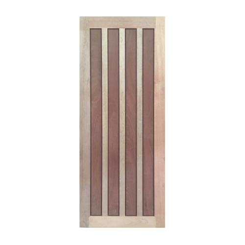 BEST ประตูไม้สยาแดง  ขนาด 80x220 cm.  GS-39