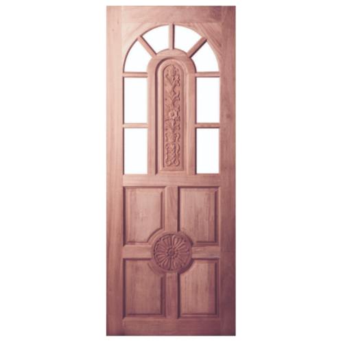 BEST ประตูกระจกไม้จาปาร์ก้า  ขนาด 105x210 cm. GC-76