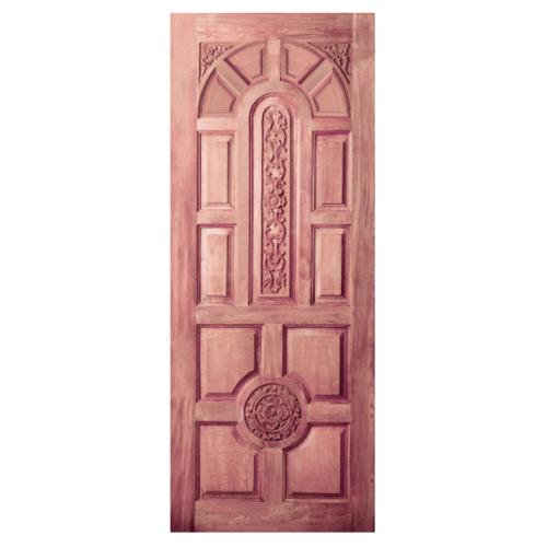 BEST ประตูไม้จาปาร์ก้า ขนาด 130x210 cm.(ทำสี) GC-75