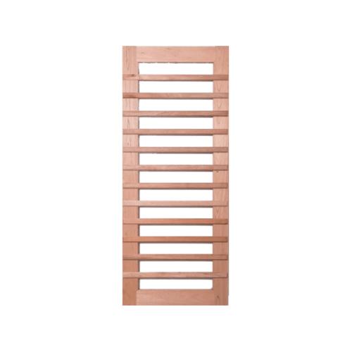 BEST ประตูกระจกไม้สยาแดง ขนาด 90x240 cm.   GS-59