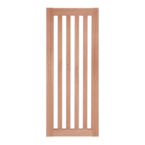 BEST ประตูกระจกไม้สยาแดง ขนาด 45x200 cm. GS-46