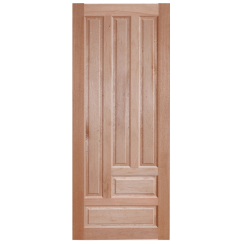 BEST ประตูไม้สยาแดง  80x220 cm. GS-03