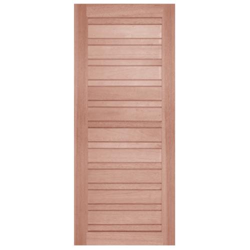 BEST ประตูไม้สน ขนาด 107x200 cm. GS-53