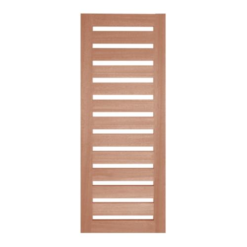 BEST ประตูกระจกไม้สยาแดง ขนาด140x300 cm. GS-55