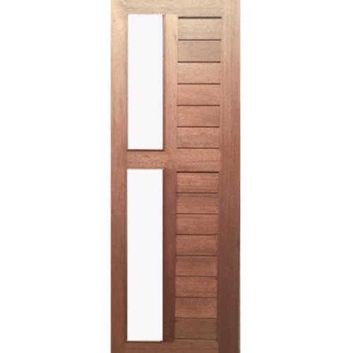 BEST ประตูกระจกไม้สน  80x220 cm.  GS-57