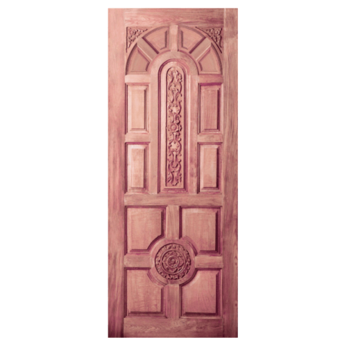 BEST ประตูไม้สยาแดง 120x200cm.  GC-75