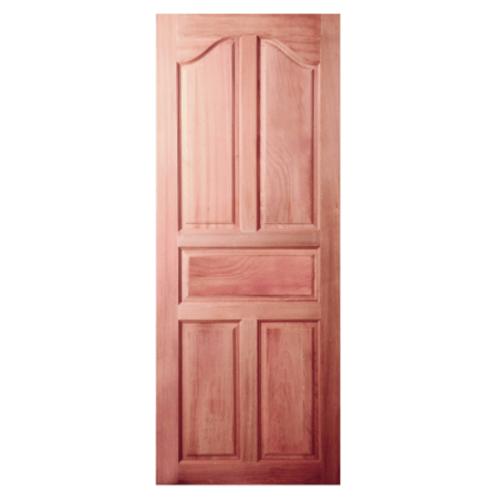 BEST ประตูไม้สยาแดงกระจก  70x200cm.  GS-30