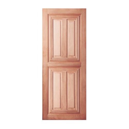 BEST ประตูไม้สยาแดง ขนาด 60x220cm. GS-43