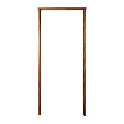 BEST วงกบประตูไม้เนื้อแข็งพร้อมซับ  ขนาด 145x220cm.