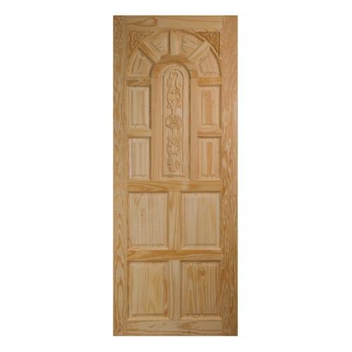 BEST ประตูไม้สน ขนาด 80x190cm. GC-71