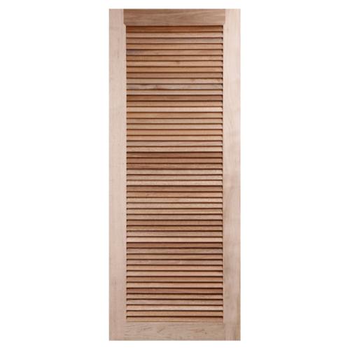 BEST ประตูไม้สยาแดง ขนาด 72x200cm.   GS-23