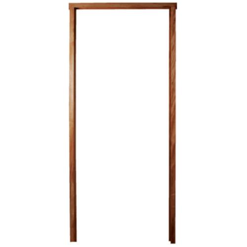 BEST วงกบประตูไม้เนื้อแข็ง  ขนาด152x210cm.