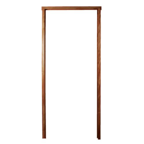 BEST วงกบประตูไม้เนื้อแข็ง  ขนาด 145x200 cm.