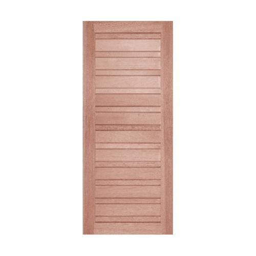 BEST ประตูไม้สน บานทึบทำร่อง ขนาด  80x180ซม.  GS-53
