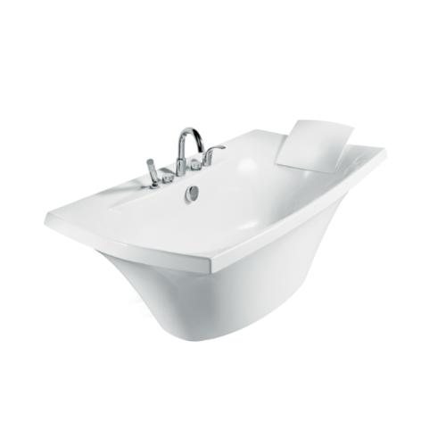 KOHLER อ่างอาบน้ำอะครีลิค ระบบบับเบิ้ลมาสซาจ  เอสแกล K-11344X-G-0  สีขาว