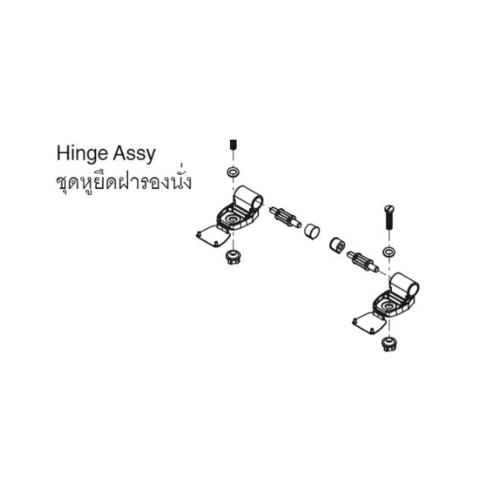karat ชุดหูฝารองนั่ง  ราล์วโบล์, อีลองเกต GS1052469-4M